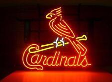 """New St Louis Cardinals Logo Neon Light Sign 20""""x16"""""""