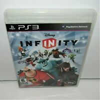 Disney Infinity (Sony PlayStation 3, 2013) Game Manual & Case No Figures or Base
