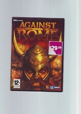 AGAINST ROME - 2003 RTS STRATEGY PC GAME - FAST POST - ORIGINAL & COMPLETE - VGC