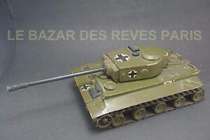 PANZER TIGRE. Maquette de présentation en bois.  32 CMS.