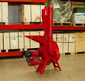 Hammer Mill Hemp Grinder - 7.5hp Gasoline Powered! USA In-stock w/Support