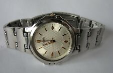Seiko V701 Quartz Watch in All Stainless Steel