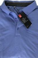 Under Armour Men's HeatGear Short Sleeve Golf Polo Shirt SZ Large L Pale Purple
