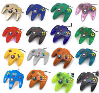 GREAT WORKING Genuine NINTENDO 64 CONTROLLER ORIGINAL N64 Rare Clear Red Green