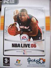 EA SPORTS---NBA LIVE 06---BASKETBALL---PC CD---BRAND NEW---FREE POST TO UK