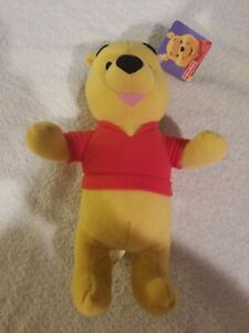 """Fisher Price Winnie The Pooh  W/ Tags  Plush 10"""" Preowned 2003 FREE S/H"""
