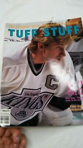 March 1991 Tuff Stuff Oversized Price Guide - Wayne Gretzky LA Kings