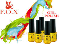 F.O.X ( FOX ) - Gel LED/UV Nail polish Color Coat FRENCH PIGMENT 6ml BEST PRICE!