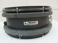 Peavey Radial Pro 500 Black 14 x 7 Snare Drum 1990's.