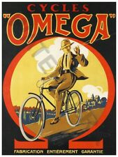 OMEGA CYCLES PRINT ONLY ART POSTER HP3780