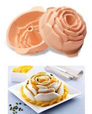 SILIKOMART molde de silicona con anillo para tarta Adornada en forma de Rosa