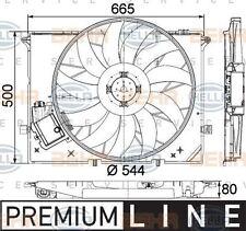 8EW 351 040-091 HELLA Fan  radiator