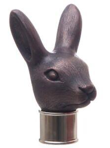 Rabbit Thumb Stick Head Cold Cast Copper walking stick making