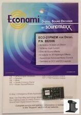 Soundtraxx ~ nuevo 2019 ~ econami ~ ECO-21 Pin ~ Diesel ~ ~ 882006 Decodificador de sonido