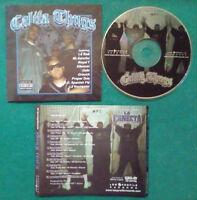 CD Compilation CALIFA THUGS Low Profile Records RAP HIP HOP LATINO no mc lp(CH2)