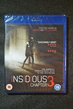 UK release NEW + SEALED Blu-ray Insidious Chapter 3 Blu-ray Region B