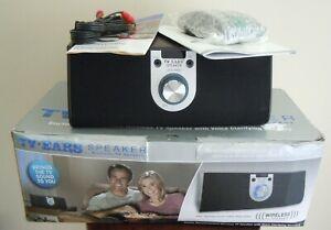 TV EARS WIRELESS VOICE CLARIFYING SPEAKER COMPLETE