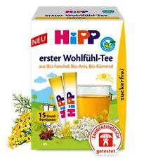 Hipp baby wellness tea bio fenouil anis & cumin digestif thé pour calmer colique...