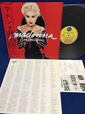 Madonna You Can Dance Japan Vinyl Record P-13514 1988 Obi Insert Card Spotlight