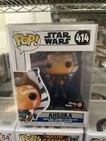 Funko POP Star Wars The Clone Wars Ahsoka Tano New Pose #414 Gamestop Exclusive