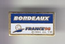 RARE PINS PIN'S ..  FOOTBALL SOCCER WORLD CUP FRANCE 98 STADE BORDEAUX 33 ~DY