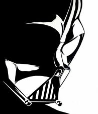 Darth Vader Head Vinyl Decal Sticker Car Truck Window**Buy 2, Get 1 Free**