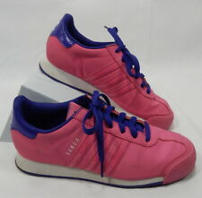Womens Size 7 Pink and Purple Adidas Samoa Sneakers Shoes