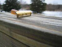 Nice Schick Injector Type G 1946-1955 SE Safety Razor Gold Tone