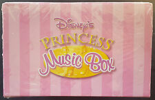 "DISNEY""S PRINCESS MUSIC BOX From 2003 NEW/SEALED - Includes 5 Books & Necklace"