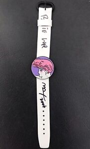 Peter Max Hand Signed And Inscribed Limited Edition Pop Art Wrist Watch
