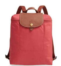 Longchamp Le Pliage Nylon Foldable Backpack ~NIP~ Fig Red
