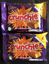 8 X Cadbury crunchie bars Chocolate26.1g