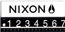 NIXON WATCHES 7 in x 1.75 in STICKER Nixon Skate Surf Snow Moto Decal