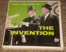 Vintage Film 8mm movie Laurel and Hardy THE INVENTION w original box ANTIQUE OOP