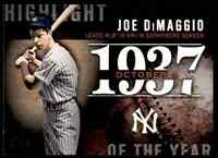 2015 TOPPS HIGHLIGHT OF THE YEAR JOE DIMAGGIO NEW YORK YANKEES #H-64 INSERT