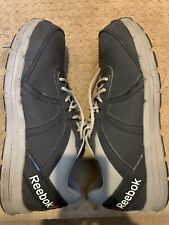 Men's Reebok Eh Steel Toe Work Shoes, Us Size 13, Navy Blue & Grey Accents
