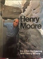 Henry Moore, photos by John Hedgecoe and text by Henry Moore, 1968 1st Edition