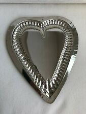 Vintage HEART CHOCOLATE MOLD MOULD ANTIQUE - Metal - Large Heart