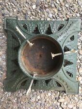 Viintage Antique Cast Iron Christmas Tree Stand