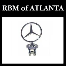 Genuine Mercedes Benz Front Hood Chrome Star Emblem Logo C, E, S, CLK Class