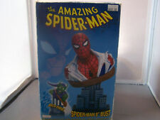 "MARVEL AMAZING SPIDER-MAN 8"" BUST  IN BOX"