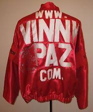 "Vinny ""Paz"" Pazienza Boxing Fight Worn Robe From Last Pro Fight Paz Loa"