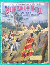 BUFFALO BILL  LE MYSTERE D'UN CHATEAU EN ADOBE  1911 EICHLER no 193 WILLIAM CODY