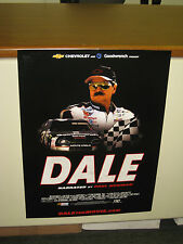 """Dale Earnhardt Movie Poster NEW Dale the Movie 18""""X24"""" GM  Promotion NASCAR"""