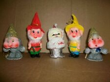 GNOMES ELVES PIXIE & SANTA VINTAGE WEST GERMANY & JAPAN 50 YEARS OLD ANTIQUE