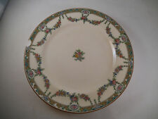 Vintage Minton Caldwell & Co Dinner Plate Philadelphia England Flower Gardland