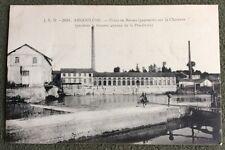 CPA. ANGOULEME. 16 - Usine de BASSAU. PAPETERIE. Charente. Annexe Poudrerie.
