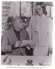 CECIL B DEMILLE EVELYN KEYES Original CANDID Vintage 1937 THE BUCCANEER Photo