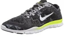Womens Nike Free 5.0 TR FIT 4 PRT Running Shoes Size 7.5 Black White 629832 008