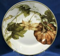 "BRAND NEW~ 1 Williams Sonoma Botanical Pumpkin Dinner Plate 11"" ~ Multiples Avai"